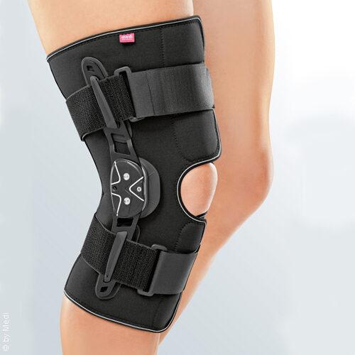 Kniebandage mit einstellbarem Gelenk